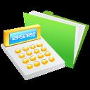 Calculator, Money Icon