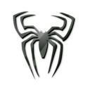 Black, Spider Icon