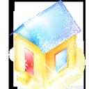 House, Xmas Icon