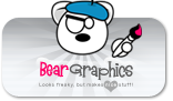 Bear, Big, Graphics Icon