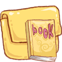 Book, Folder, Hp Icon
