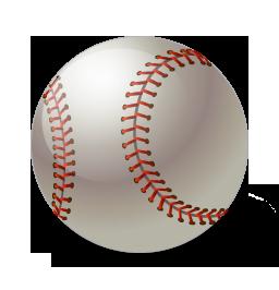Ball, Baseball Icon