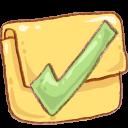 Finished, Folder, Hp Icon