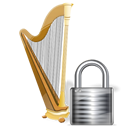Lock, Recyclebin Icon