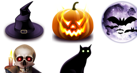 Halloween Linux Icons