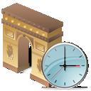 Arcodeltriunfo, Clock Icon