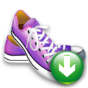 Down, Shoes Icon