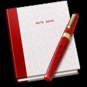 Book, Fountain, Note, Pen Icon