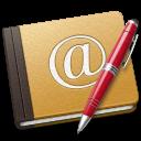 Address, Alt, Book, Old, Red, School Icon