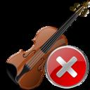 Close, Violin Icon