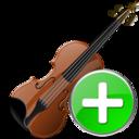 Add, Violin Icon