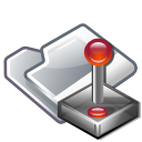 Computer, Folder, Game Icon