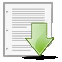 Document, Save Icon