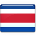 Costa, Flag, Rica Icon