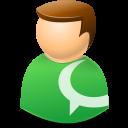 Icontexto, Technorati, User, Web Icon