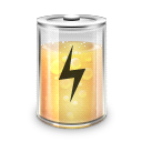 Battery, Charged, Power Icon