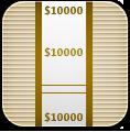 Money, Wrap Icon