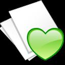 Documents, Fav, White Icon