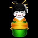 Green, Korea Icon