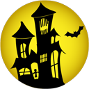 Haunted, House Icon
