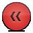 Button, Red, Rewind Icon