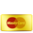 Card, Credit, Gold, Mastercard Icon