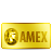 Amex, Bank, Card, Credit, Gold Icon