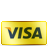 Card, Credit, Gold, Visa Icon