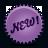 New, Splash, Violet Icon