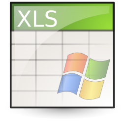 Document, Excel, Microsoft, Spreadsheet Icon