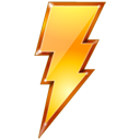 Bolt, Lightning, Power, Quick, Restart Icon