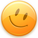 Emot, Good, Happy, Smiley Icon