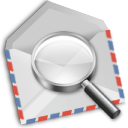 Airmail, Envelope, Find, Mail, Search Icon