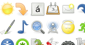 Gnome Web Icons