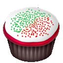 Cake, Christmas, Food Icon