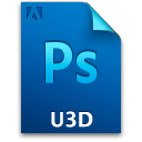 Document, File, Ps, U3dfile Icon