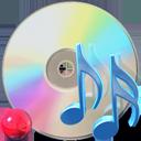 Cdaudio, Itunes, Music, Unmount Icon