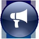 Advetisement, Announcement, Blog, Megaphone, Notifications, Promote Icon