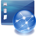 Desktop, Internet, Network Icon