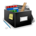 Box, Building, School Icon