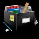 Box, Building, School Icon