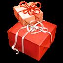 Box, Christmas, Gift, Giftbox, Red Icon