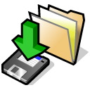 Beos, Downloads, Folder Icon