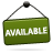 Available, Sign Icon
