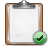 Check, Clipboard Icon