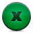 Button, Close, Green Icon