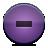 Button, Delete, Violet Icon