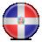 Dominican, Flag, Republic Icon