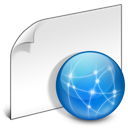 File, Generic, Internet, Network Icon