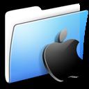 Apple, Aqua, Folder, Smooth Icon
